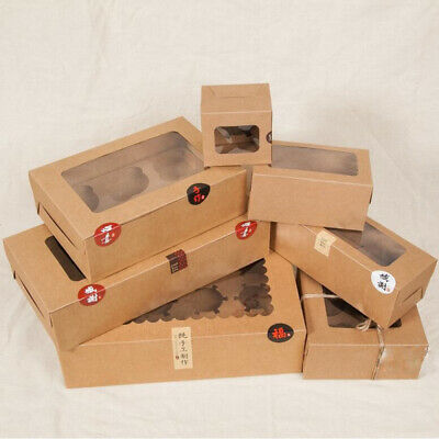 AU15.99 • Buy Premium Cupcake Box Range 4 Hole 6 Hole 12 Hole Window Face Cases Party 12 Pack