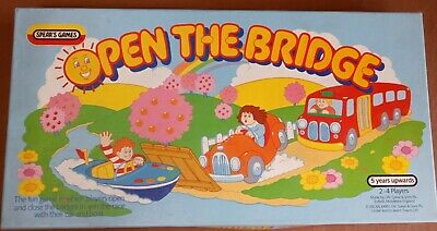 VINTAGE Spears Games OPEN THE BRIDGE GAME 1985 • 15£