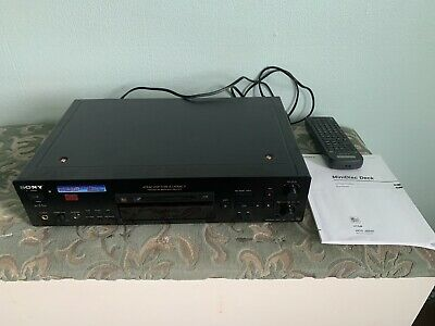 SONY MDS JB940 QS MINI DISC PLAYER / RECORDER & Remote. New Eject Belt Fitted. • 330£
