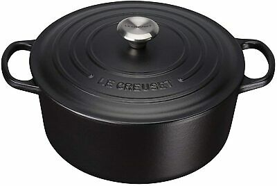 Le Creuset Signature Enamelled Cast Iron Round Casserole Dish With Lid, 26 Cm • 175£