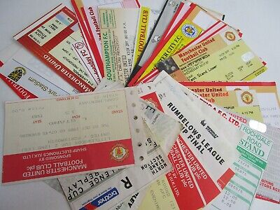 £2.95 • Buy Manchester United Tickets Home And Away 1989-2002 £2.95 Each With Free Post