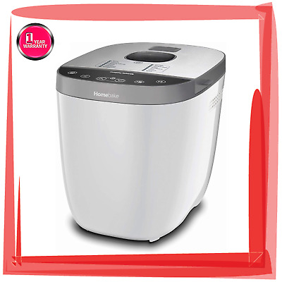 View Details Morphy Richards 502001 Homebake Bread Maker With 14 Programmes White • 88.99£