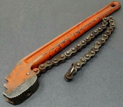 £28.31 • Buy Reed Manufacturing Co.CW14 Chain Wrench 1/8  - 2  Very Good Made In USA Vintage