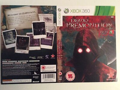 £4.99 • Buy Xbox 360 Deadly Premonition Insert Cover Only  Sleeve Inlay Promo
