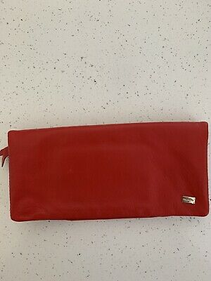 AU50 • Buy Oroton Soft Red Leather Wallet/clutch/purse