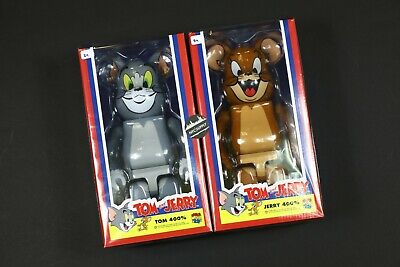 $584.99 • Buy BearBrick Tom And Jerry 400% Vinyl Figure Set Medicom Toy Rare - NEW