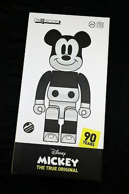 $7198.99 • Buy Bearbrick X Disney Mickey Mouse Fragment Design 1000% Medicom Toy - NEW