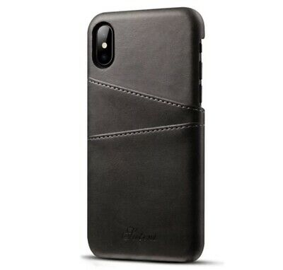 AU10.99 • Buy IPhone X XS Leather Case With Card Holder