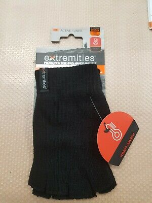 Extremities Thinny Fingerless Thermal Gloves - One Size • 6.99£