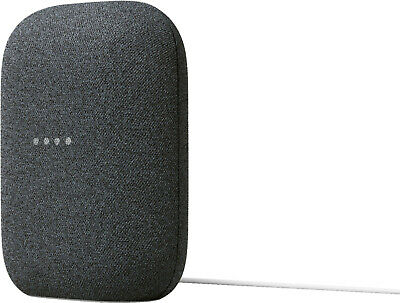 AU212.27 • Buy Google Nest Audio Smart Speaker With Google Assistant - Charcoal BRAND NEW