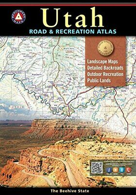 Utah Road & Recreation Atlas, By Benchmark Maps, 2017 • 14.62£