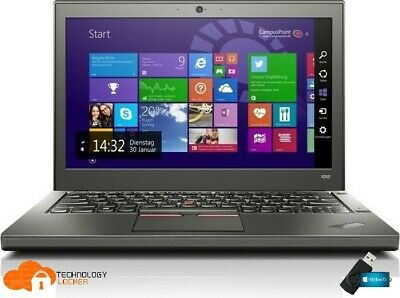 AU313.50 • Buy Lenovo ThinkPad X250 12.5  Laptop Intel I5-5300U 8GB RAM 500GB HDD Win 10 Pro