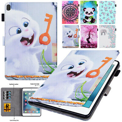 Tablet Stand Card Slot Pattern Cover Leather Case For Lenovo Tab M10 X605L/X605F • 10.55£