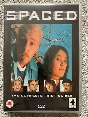 Spaced - The Complete First Series (DVD) (2001) Simon Pegg • 2.40£