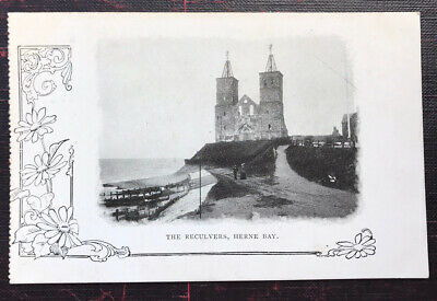 The Reculvers Herne Bay Kent Post Card  • 4.50£