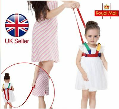 Baby Kids Safety Toddler Wing Walking Harness Learning Assistant Moon Reins UK • 5.59£