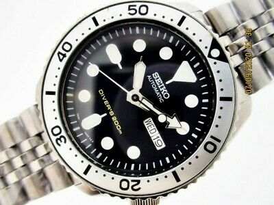 $ CDN331.48 • Buy Seiko 7s26 0020 Skx007 Auto Mens Silver Patina Ss #314206 Serviced Watch Eu Ship