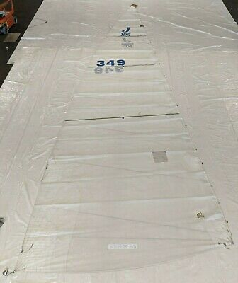 $725 • Buy Dacron Main Sail By Doyle For J105 In Good Condition 40.6' Luff