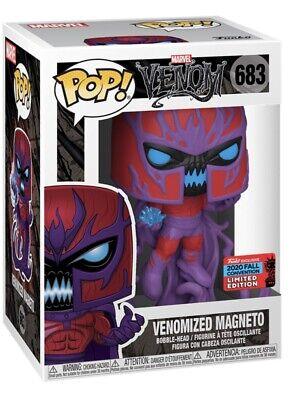 Funko Pop! Vinyl Marvel Venom Venomized Magneto 683 Nycc 2020 Hmv Exclusive • 35£