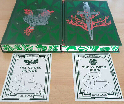 Holly Black The Cruel Prince & Wicked King SIGNED Deluxe Fairyloot Editions • 72£