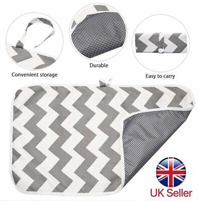 Newborn Baby Portable Foldable Washable Travel Nappy Diaper Changing Mat • 4.99£