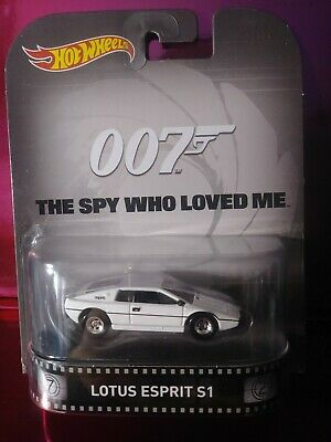 $ CDN6.26 • Buy Hot Wheels Retro James Bond 007 Lotus Esprit S1 The Spy Who Loved Me New