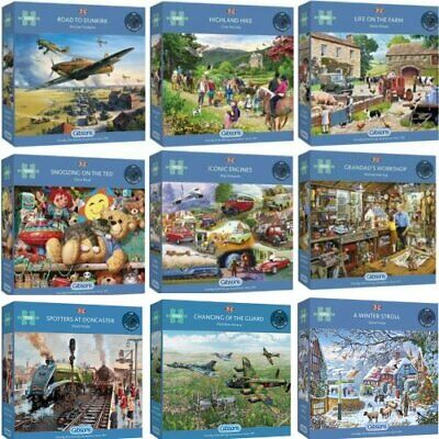 Gibsons 1000 Piece Jigsaw Puzzles Brand New • 18.75£