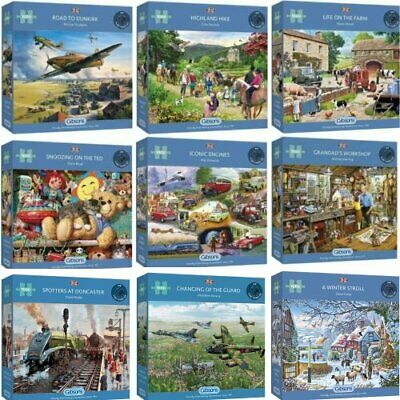 Gibsons 1000 Piece Jigsaw Puzzles • 19.75£
