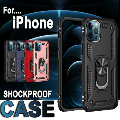 AU7.99 • Buy Heavy Duty Shockproof Case Cover For IPhone 13 12 11 Pro Max XR X XS 8 7 6 Plus