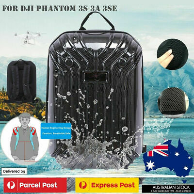 AU25 • Buy Hardsehll Shockproof Backpack Shoulder Bag Case For DJI Drone Phantom 3 Sydney