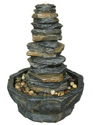 Stacked Slate Monolith Aqua Creations Water Feature PWF4410 • 288.99£
