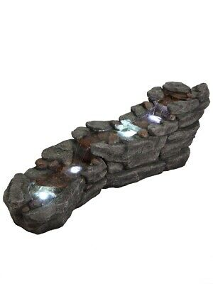 Jasper Slate River Garden Water Feature With LED Lights • 389£