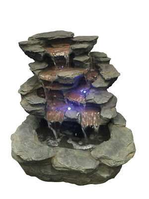 Spring Creek Slate Falls River Water Feature With LED Lights By Aqua Creations • 348.97£