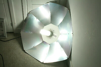 £40 • Buy Maxibright 1m Parabolic Reflector And LUMii 5U CFL Horticultural Lamp Combined