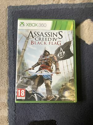 Assassin's Creed IV: Black Flag With Manual Xbox 360 PAL - Playable XBOX One • 2.99£