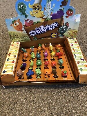 Lidl Stikeez Veg Full Set Of 24 In Display Box  • 9.99£