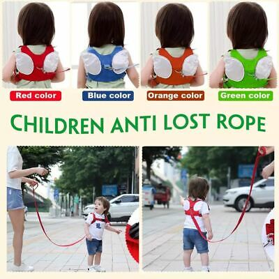Baby Safety Walking Harness Child Toddler Kids Wing Strap Belt Keeper Reins Aid • 5.29£