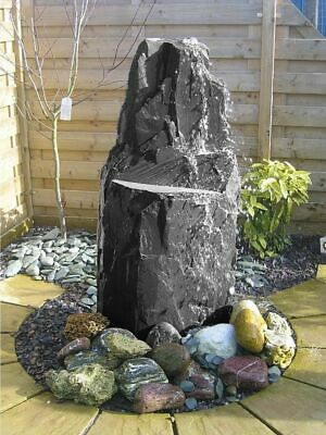 £644.40 • Buy Slate Monolith Water Feature 130cm - 160cm High