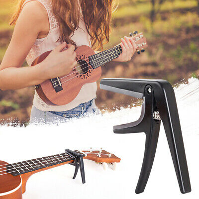 AU9.69 • Buy Premium Ukulele Capo Quick Change Trigger Style Acoustic Clamp Accessories
