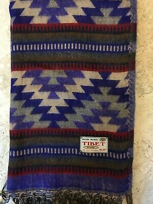 Warm And Cosy Authentic Tibet Yak Wool Shawl For Every Season • 17£