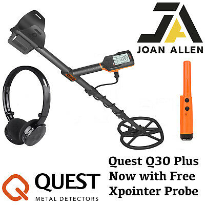 Quest Q30+ Metal Detector With Free Probe • 399£