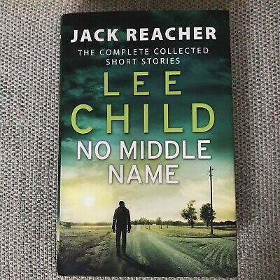 No Middle Name By Lee Child Hardcover • 3.50£