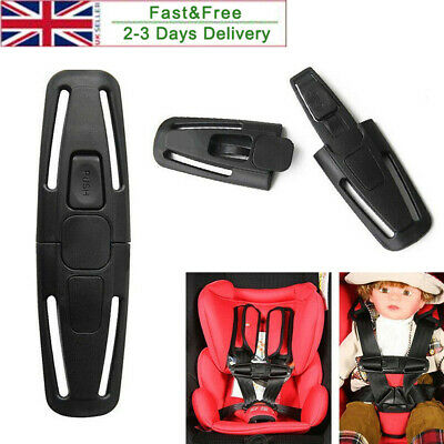 For Kids Baby Children Safety Car Seat Strap Belt Harness Chest Clip Safe Buckle • 3.29£