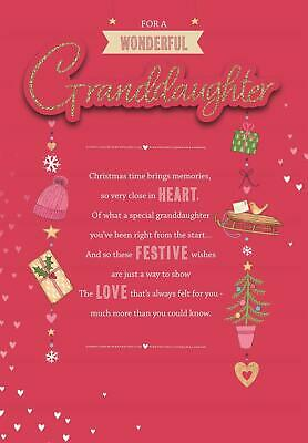 Granddaughter Lucy Cromwell Christmas Card • 4.29£