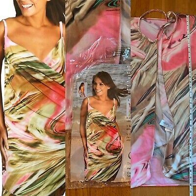 Saress Ultimate Beach Cover Up Dress Sarong Small 8/10 Approx, Holiday Cruise • 5.94£
