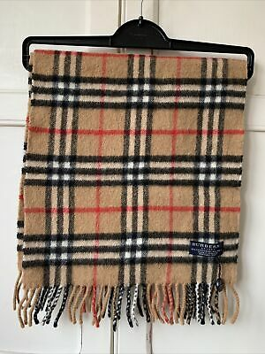Burberry London Nova Check Scarf Wool & Cashmere Blend New With Tag • 52£
