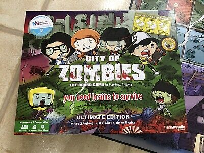 City Of Zombies Maths Board Game- Multiplication And Division Educational Game • 20£