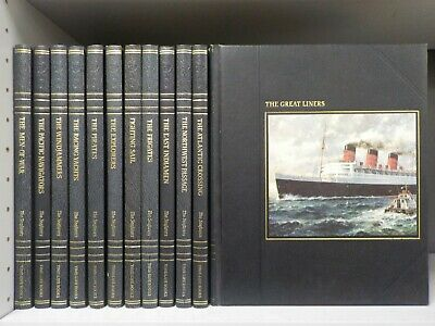 The Seafarers Time Life 1978 12 Books ID8096 • 24.99£
