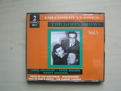 The Goon Show: Volume 1 - Bbc Comedy - 2 Cd Set - Spike Milligan - Peter Sellers • 2.95£
