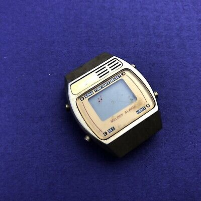 Time Electronics Melody Alarm Watch Gold Tone Face Only • 14.23£